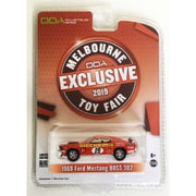 Diecast Distributors 1/64 1969 Ford Mustang Boss 302 #19 Melbourne Toy Fair