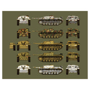 Das Werk 35021 1/35 StuG III Ausf.G / StuH 42 2 in 1 with Zimmerit Plastic Model Kit