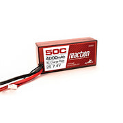 Dynamite DYNB3800EC Reaction 4000mAh 2S Hard Case LiPo 50C
