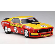 Diecast Distributors 1/18 Jim Richards Sidchrome w/ Big Fenders 1969 Ford Boss 302 Trans Am Mustang (Resin) DDA18008
