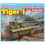 Dragon 1/35 Tiger I Late Production (3 in 1)