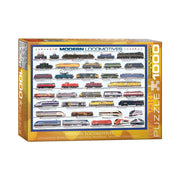 Eurographics 60091 1000pc Modern Locomotives