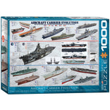 Eurographics 1000pc Aircraft Carrier Revolution