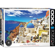 Eurographics Oia Santorini Greece Puzzle 1000pc