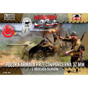 First to Fight 069 1/72 Bofors 37mm Anti-Tank Gun with Uhlans Crew 2 Sets in a Box