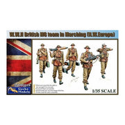 Gecko Models 1/35 WWII British MG Team Marching NW Europe