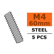 G-Force 0160-011 Tie Rod M4x60 Steel (5pcs)