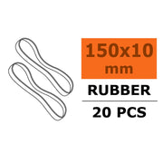 G-Force 2000-005 Wing Rubber Bands 150 x 10mm (10pcs)