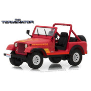 Greenlight 86533 1/43 Sarah Connors 1983 Jeep CJ-7 Renegade The Terminator