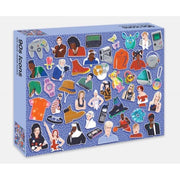 90s Icons by Smith Street 500pc Jigsaw Puzzle