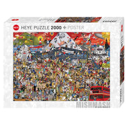 Heye Mishmash British Music Puzzle 2000pc