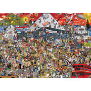 Heye 29848 Mishmash British Music Puzzle 2000pc