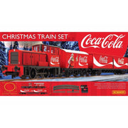 Hornby R1233 Christmas 2020 Coca-Cola Electric Model Train Set