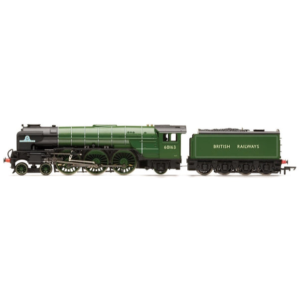Hornby OO RailRoad BR Peppercorn A1 Class 4-6-2 60103 Tornado with TTS Sound Era 11