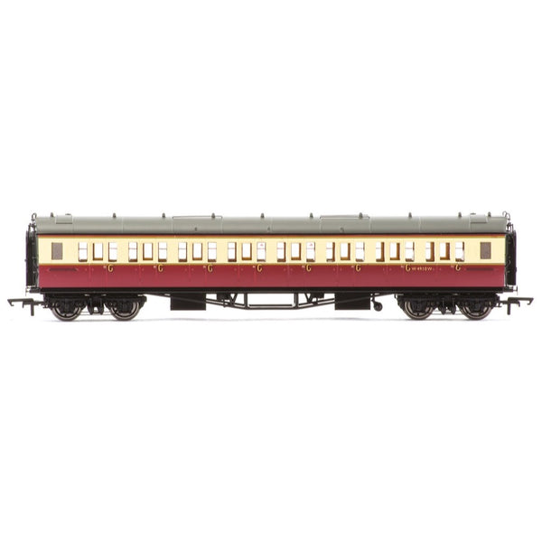 Hornby OO BR Collett Bow-Ended Corridor Third W4910W Era 4