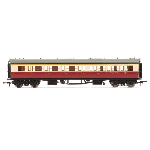Hornby OO BR Collett Bow-Ended Corridor Composite (Left Hand) W6146W Era 4