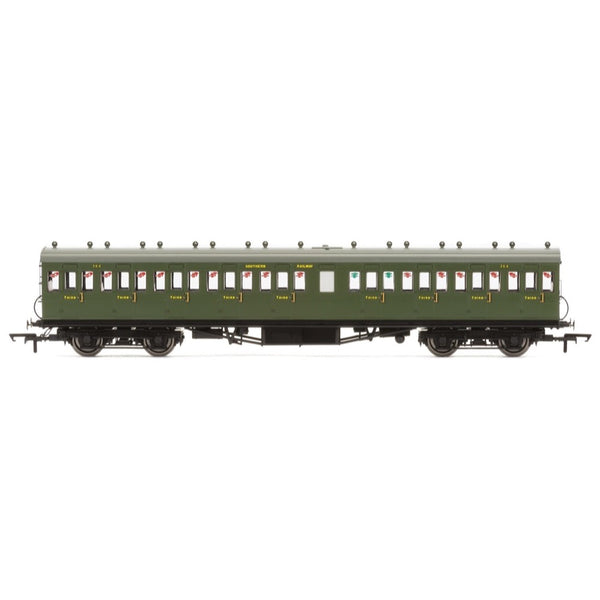 Hornby OO SR 58 Maunsell Rebuilt (Ex-LSWR 48) Nine Compartment Third 364 Era 3Hornby OO