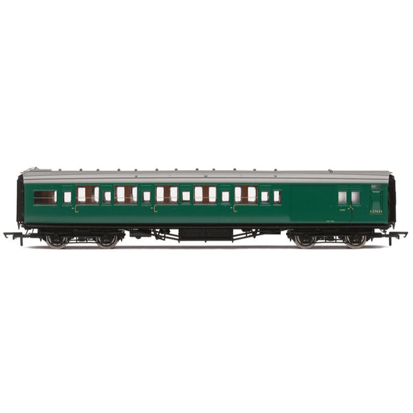 Hornby OO BR Maunsell Corridor Six Compartment Brake Second S2763S Set 230 Era 5
