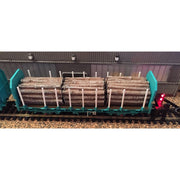 Hornby OO OTA Timber Wagon Parallel Stanchions*