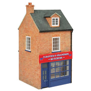 Hornby R7288 OO T. Davies & Grandson Butchers Resin Building
