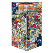 Heye Schone Train Station Puzzle 2000pc HEY29730