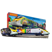 Hornby R1253M Eurostar Yellow Submarine Electric Model Train Set