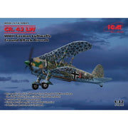 ICM 32021 1/32 Fiat CR.42 LW WWII German Luftwaffe Ground Attack Aircraft Plastic Model Kit