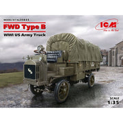 ICM 35655 1/35 FWD Type B, WWI US Army Truck Plastic Model Kit