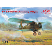 ICM 1/72 Polikarpov I-153 WWII China Guomindang AF Fighter