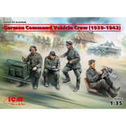 ICM 1/35 German Command Vehicle Crew 1939-1942 4 figures ICM-35644