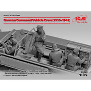 ICM 35644 1/35 German Command Vehicle Crew 1939-1942 4 figures