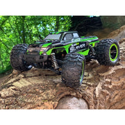 BlackZon Slayer BZ540085 1/16 4WD Brushed Electric RC Monster Truck (Gold Edition)