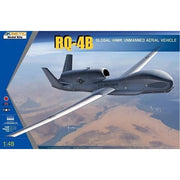 Kinetic 48084 1/48 RQ-4B Global Hawk US/KOERA/JAPAN Plastic Model Kit