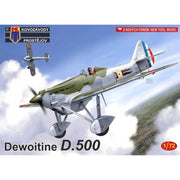 KP Models 0177 1/72 Dewoitine D-500 Plastic Model Kit