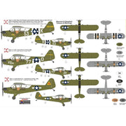 KP Models 0190 1/72 Piper L-4 Grasshopper w/Bazookas Plastic Model Kit