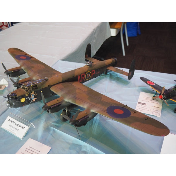 An excellent build of the Hong Kong Models 1/32 Lancaster at Model Expo 2019