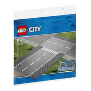 LEGO® City Straight and T Junction