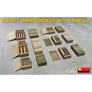 Miniart 35261 1/35 Soviet Ammo Boxes with Shells