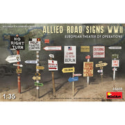 MiniArt 35608 1/35 Allies Road Signs WWII European Theatre of Operations