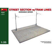 Miniart 36040 1/35 Street Section with Tram Line