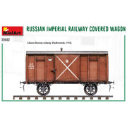 Miniart 39002 1/35 Russian Imperial Railway Covered Wagon