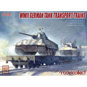 Modelcollect 1/72 WWII German Tank Transport Trains MC-UA72158