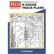 Peco PB4 N Gauge Track Plans Book