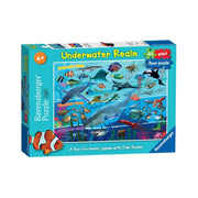 Ravensburger 07347-4 60pc Underwater Realm Supersize Puzzle