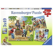 Ravensburger 08030-4 Adventure on the High Seas Puzzle 3x49pc