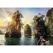 Ravensburger 13968-2 The Rocks in Cheow Thailand Puzzle 1000pc