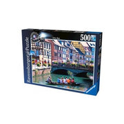 Ravensburger 14323-8 500pc Exploring the Canal Puzzle