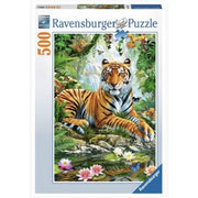 Ravensburger 14742-7 Tiger In The Jungle Puzzle 500pc