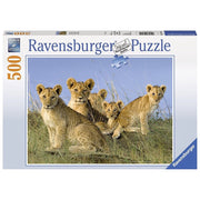 Ravensburger 14791-5 Lion Babies Puzzle 500pc
