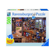 Ravensburger 14859-2 500pc Dads Shed Large Format Puzzle